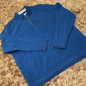 Tommy Bahama relax Pullover zip sweater